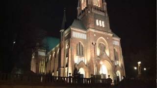 Iluminacja Kościoła Niepokalanego Poczęcia NMP na Żbikowie