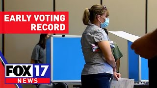 Tennessee breaks early-voting record with 91% increase from 2016 election