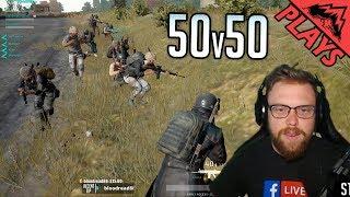 50v50 INSANITY - PlayerUnknown