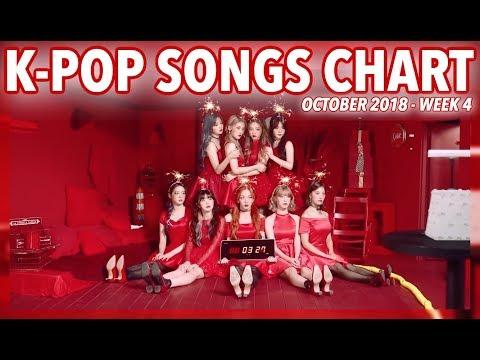 K-POP SONGS CHART | OCTOBER 2018 (WEEK 4)