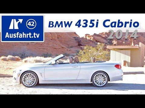 2014 BMW 435i Cabriolet - Fahrbericht Test Testdrive Erfahrungen Probefahrt 4er Cabrio