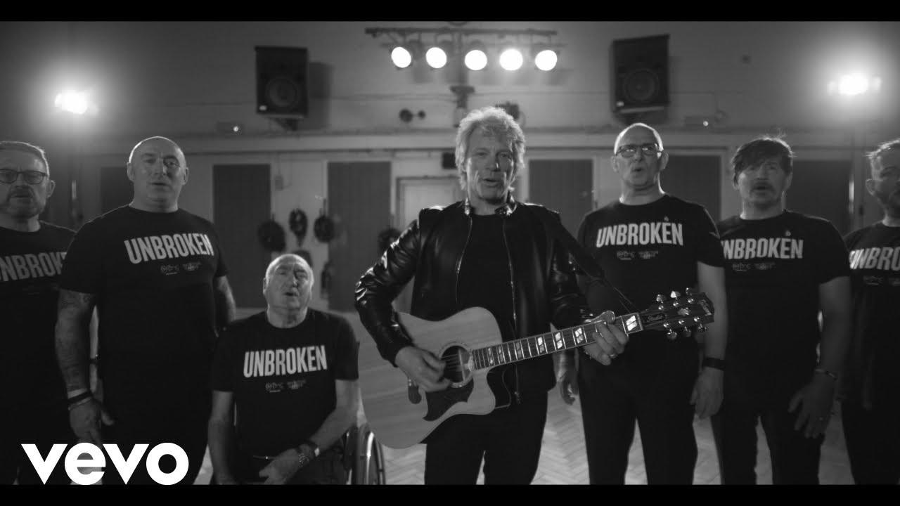 Bon Jovi feat. The Invictus Games Choir – Unbroken