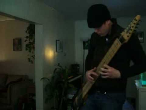 Michael Bernier Noodling with Billy Cobham Drum Loop on Chapman Stick