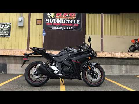 2018 Yamaha YZF-R3 ABS in Auburn, Washington - Video 1