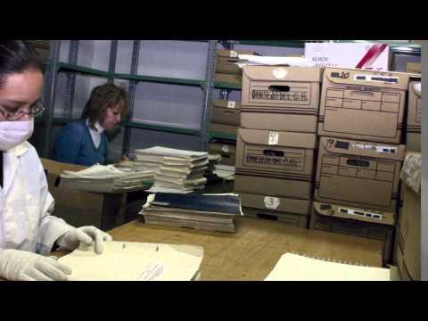 Organización de un archivo central