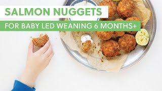 Salmon Nuggets For Baby Led Weaning