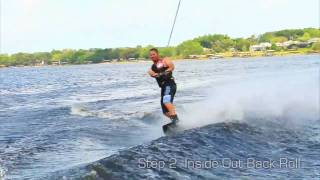 Wakeboarding Tip: Low Impact HS Back Roll Progression