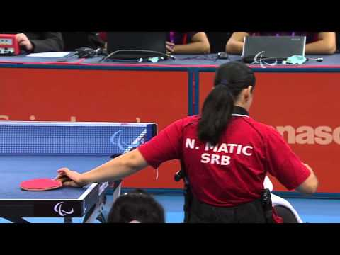 ZHANG Bian (CHN) 3-0 MATIC Nada (SRB)