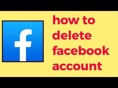 how to delete my facebook account easily সহজেই কিভাবে ডিলিট করবেন ফেসবুক অ্যাকাউন্ট