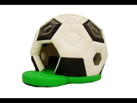 Надувной батут Футбольный мяч от БатутМастер
