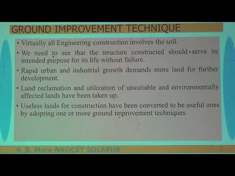 Ground Improvement Technique 1