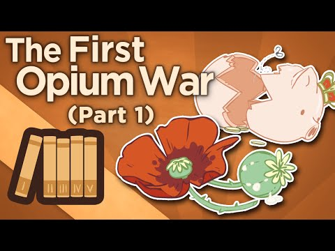 První opiová válka: Obchodní deficit a diplomat Macartney