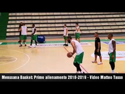 Mens sana Basket 1871: Primo allenamento 2018-2019