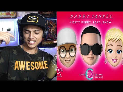 [Reaccion] Con Calma Remix - Daddy Yankee + Katy Perry feat. Snow (Official Lyric Video) Themaxready
