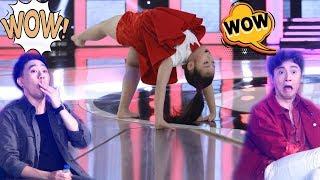 """Màn nhảy Jazz kết hợp với múa bale và xiếc của cô bé 8 tuổi khiến Anh Đức, Ngô Kiến Huy """"há hốc"""""""