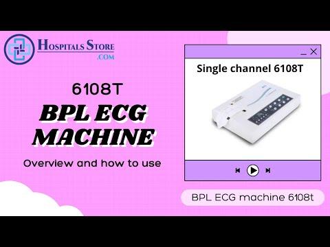 BPL  ECG Machine  6108T