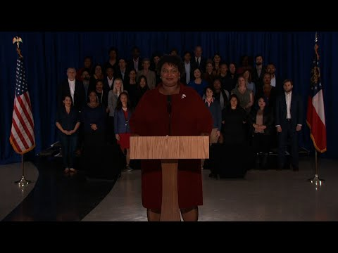Former Georgia Gubernatorial candidate Stacey Abrams delivered the Democratic response to the State of the Union. Abrams called the shutdown a 'stunt' and challenged President Trump and Republicans on the economy, immigration and voting rights. (Feb. 6)