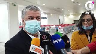 Le président Charef Eddine Amara parle de sa rencontre avec Djamel Belmadi