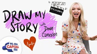 Dove Cameron's Terrifying Final Day Filming Descendants | Draw My Story | Capital