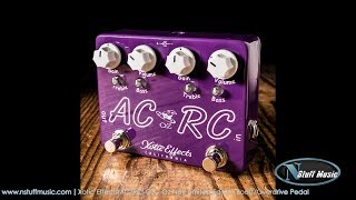 Xotic Effects AC/RC-OZ - Oz Noy Limited Edition Boost/Overdrive Pedal