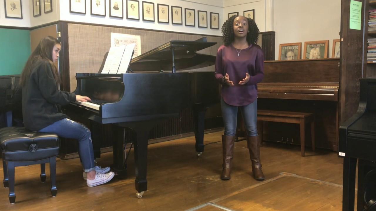 Kentucky All State Honor Choir For Briana Johnson