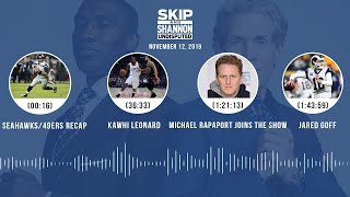 Seahawks/49ers, Cowboys, Kawhi Leonard, Michael Rapaport joins the show   UNDISPUTED Audio Podcast