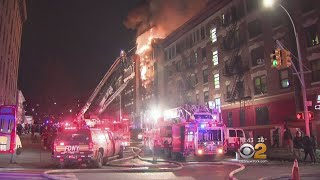 Bronx Fire Displaces At Least 2 Dozen Families