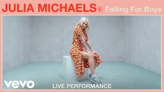 "Julia Michaels   ""Falling For Boys"" Live Performance 