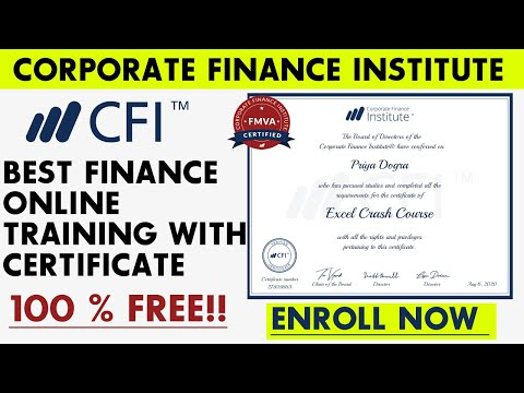 Best Finance Online Training with Certificate | Free Finance Courses