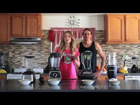 Blendtec vs Vitamix vs Ninja vs Nutribullet Reviews and blend offs. Best Blender Models Tested