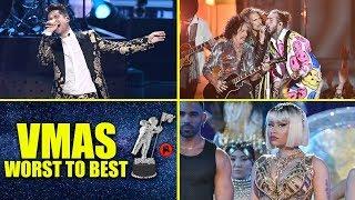 MTV VMAs 2018 | Performances Ranked WORST to BEST