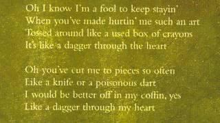 Sinead O'Connor - Dagger Through the Heart - Dolly Parton Cover Song.
