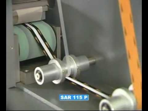 SAR ITA-Macchine per stirare nastri, etichette tessute ed elastici