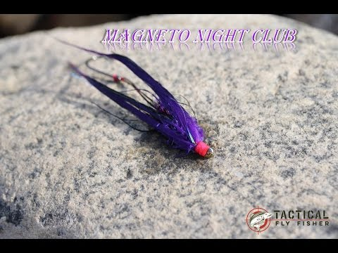 Magneto Night Club Fly Tying Tutorial