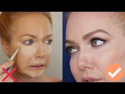 Over 35?40? Stop Doing Your Concealer Like A YouTuber - Tips from a Pro MUA