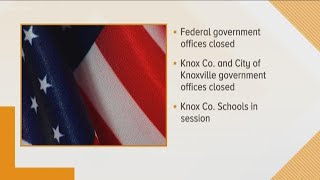Federal government closed for Veterans Day