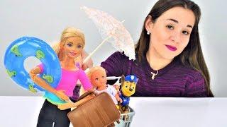 Мультики Бюро находок - Барби и зонт. Игры в куклы