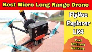 FlyWoo Explorer LR4 Micro Long Range FPV Racing Drone