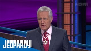 Video thumbnail for Alex Trebek Receives Order of Canada | JEOPARDY!