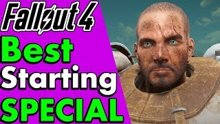 Fallout 4: Best Starting Special Stats to Start With (Melee, Survival & Beginners) #PumaThoughts