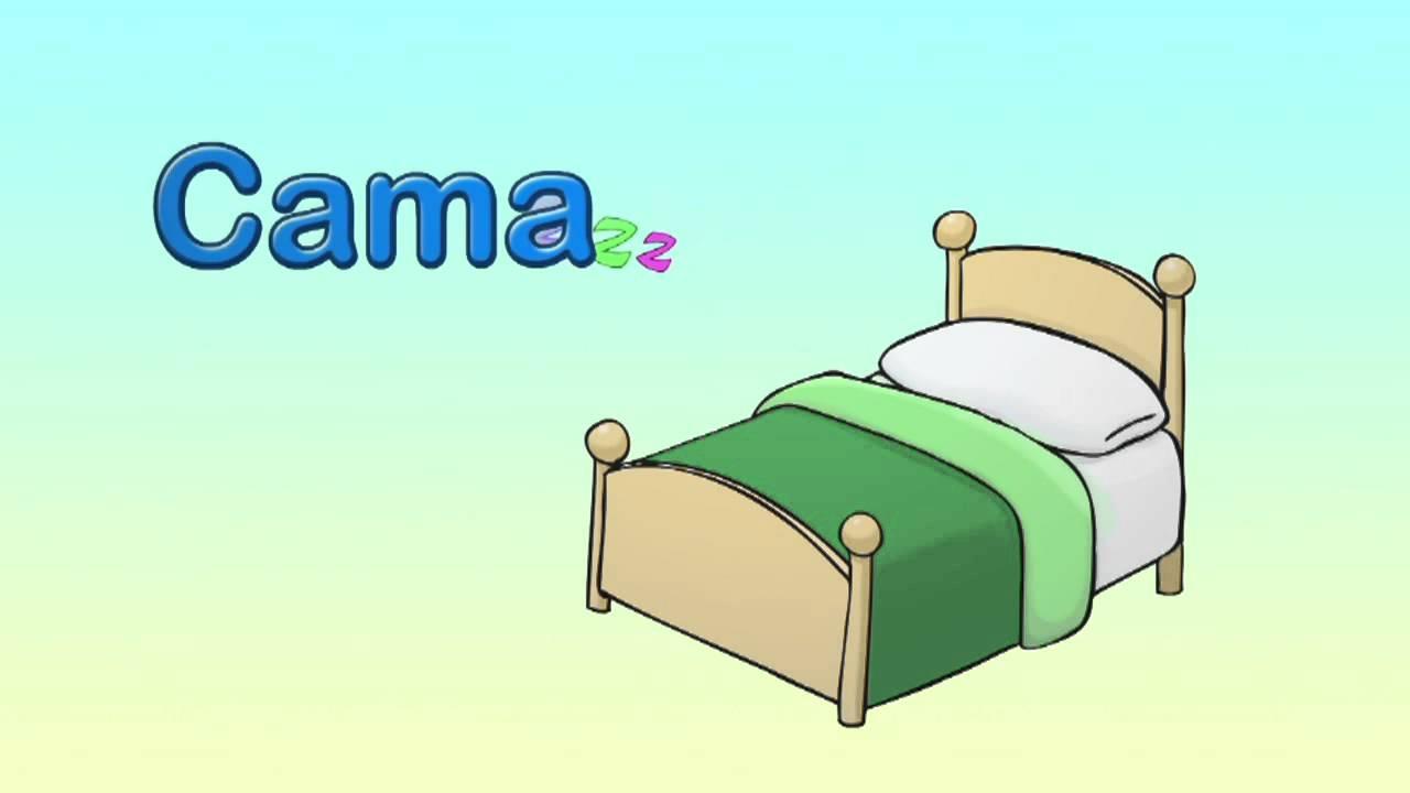 Cómo se dice cama en inglés