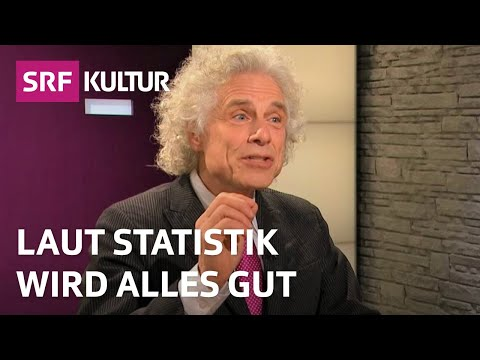 Steven Pinker: Sorge Dich nicht, vertrau der Statistik! | SRF Sternstunde Philosophie