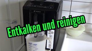 Bosch Vero Cup 100 entkalken Kaffeemaschine reinigen entkalken sauber machen Kaffeevollautomat
