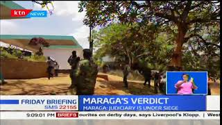 Chief Justice David Maraga speaks about the pressure that was put on him during the petition