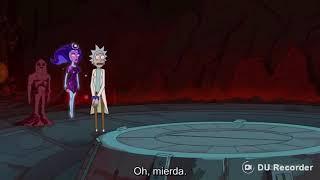 Morty Cree Que El Mensaje De Rick Es Para El / Rick And Morty (3x04)