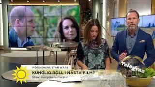 Storbritanniens Prinsar Spelar Roller I Nya Star Wars-filmen  - Nyhetsmorgon (TV4)