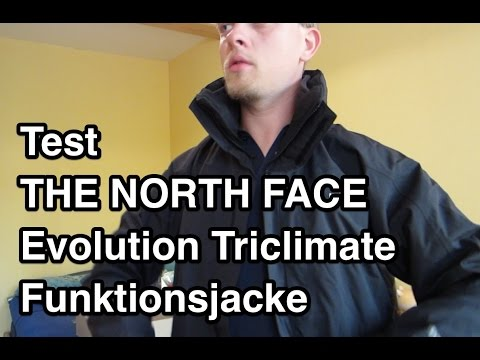 Test THE NORTH FACE Evolution Triclimate Jacke | 3 in 1 Jacke | North Face Jacke