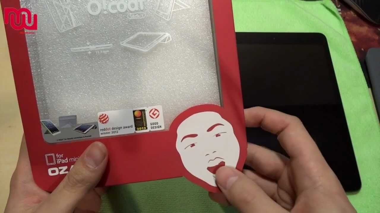 "Чехол Ozaki O!coat Slim iPad 9.7"" (Pink) video preview"