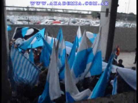 """ENTRANDO LA GUARDIA IMPERIAL!! RACING VS VELEZ"" Barra: La Guardia Imperial • Club: Racing Club • País: Argentina"
