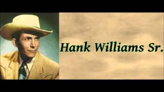 I'm So Lonesome I Could Cry - Hank Williams Sr.